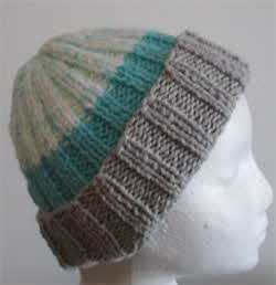 chunky-hat-grey-tourquoise-whit-fleck