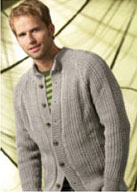 men's cardiganfree pattern